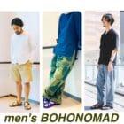 【Quorinest渋谷】men's × BOHONOMAD