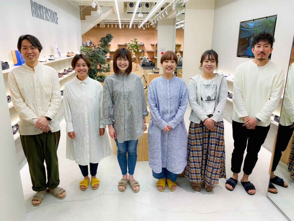 ビルケンシュトック新宿店 kYOTO スタッフ写真
