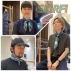 《Quorinest日比谷店》スカーフの使い方!